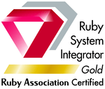 Ruby Associatioln Certified System Integrator Gold